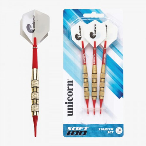 D71907 Unicorn® Soft Tipped 100 Dart Set