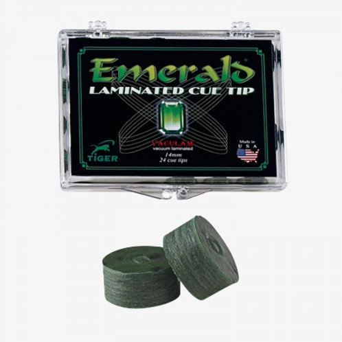 EMCT Tiger Emerald Leather Tip