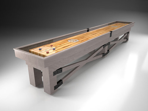 Championship Rustic Shuffleboard