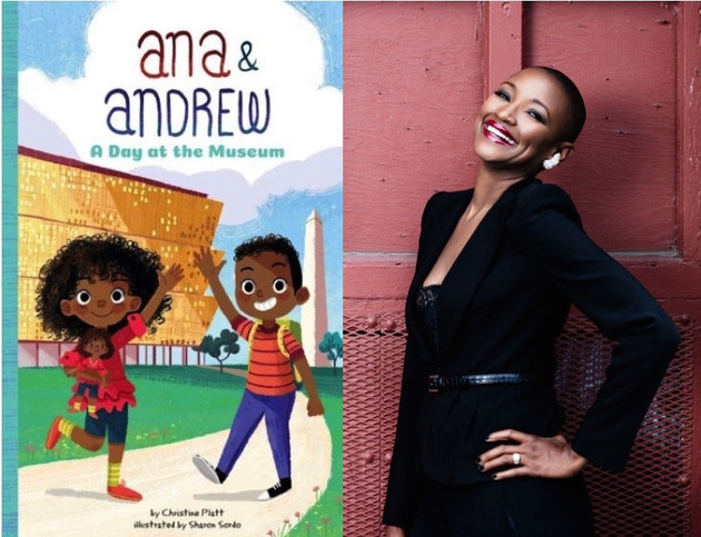 Multicultural Children's Book Day Review! Ana and Andrew: A Day at the Museum