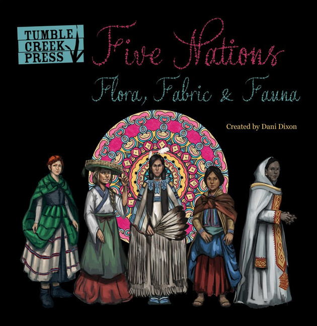 FIVE NATIONS~A review for Multicultural Children's Book Day