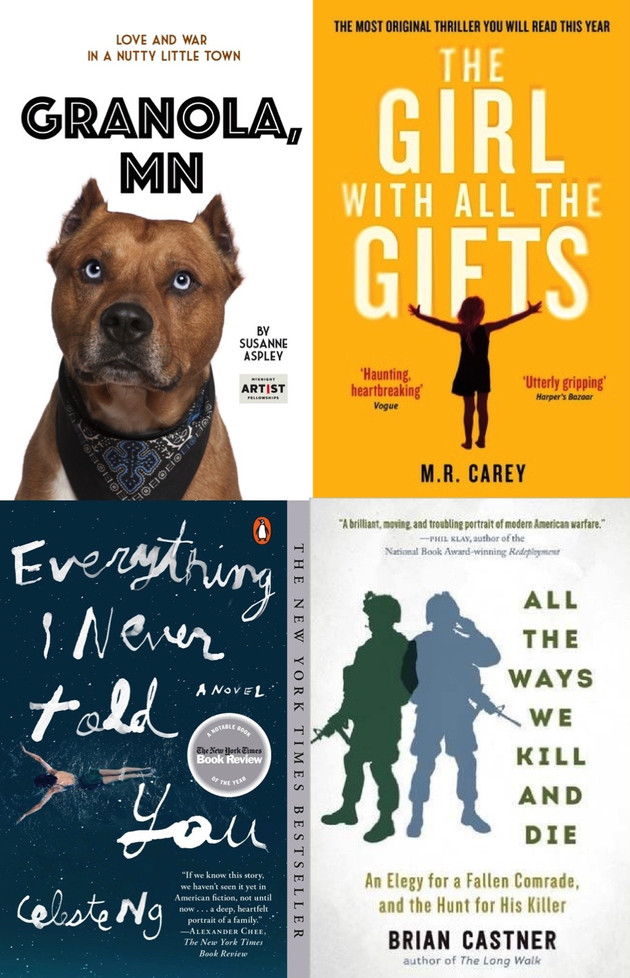 Veteran -Mil Spouse Best reads 2016