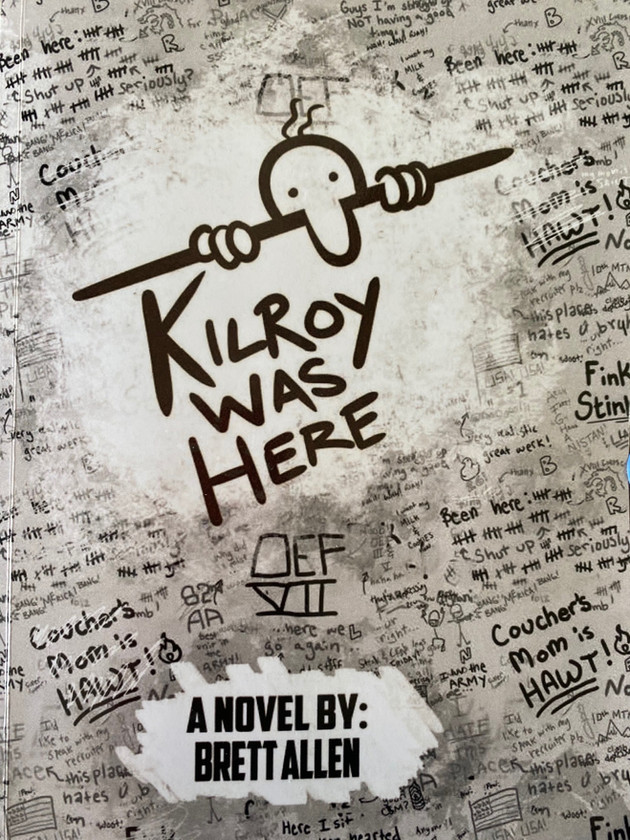 'The Office Space of War Novels'- Kilroy was Here Author Interview