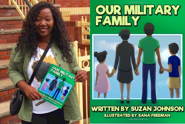 Our Military Family- review for Multicultural Children's Book Day