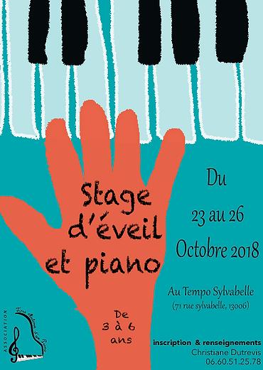 stage de piano
