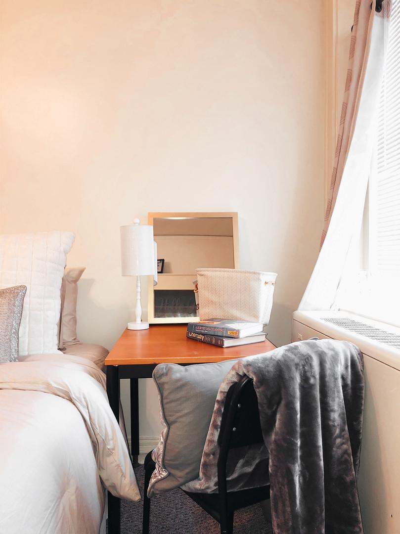 First Desk Area