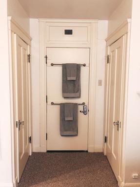 Door and Closet Area