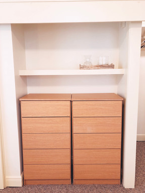 Two-sets of Drawers