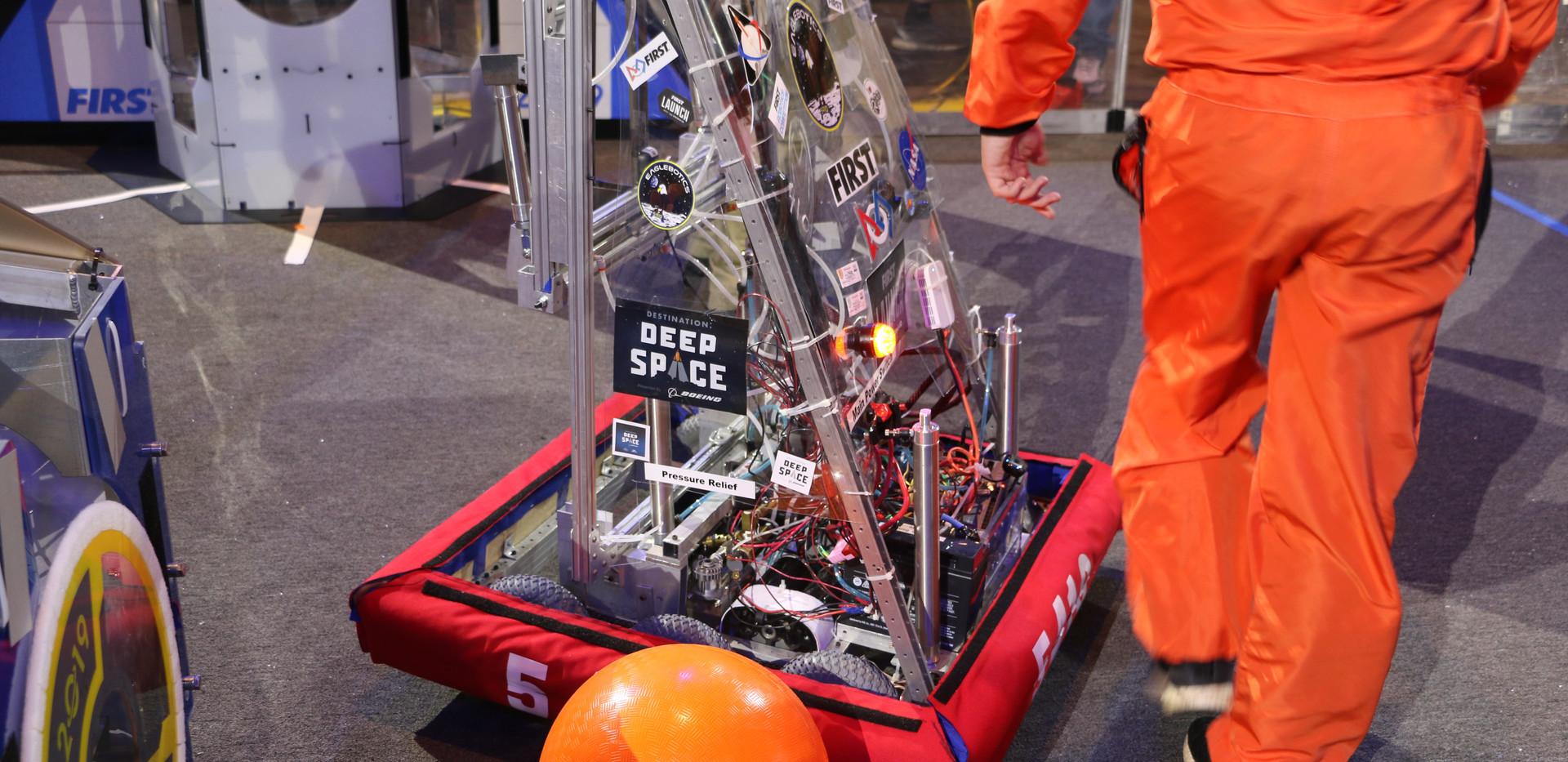 Robot in Field.JPG