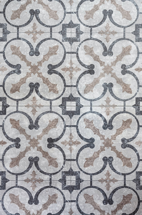 Vintage tiles of Rome