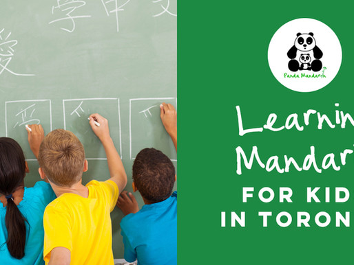 Learning Mandarin for Kids in Toronto