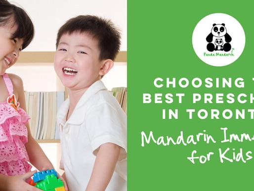 Choosing the Best Preschool Program