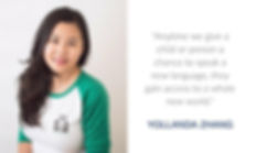 Yollanda Zhang on Torontism Blog