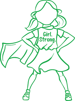 Panda Mandarin Language Programs - Girl. Strong.