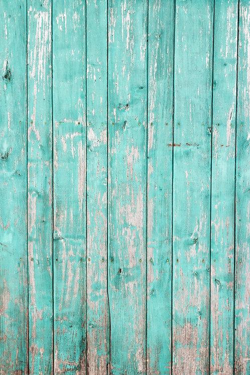 Turquoise Wood