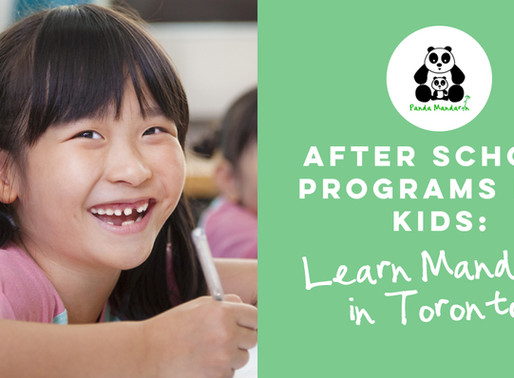 After School Programs for Kids to Learn Mandarin