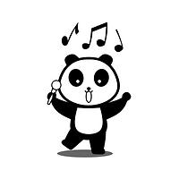 Panda Mandarin singing panda