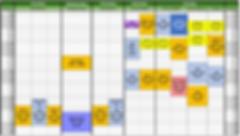Panda Mandarin Class Schedule 2019-2020