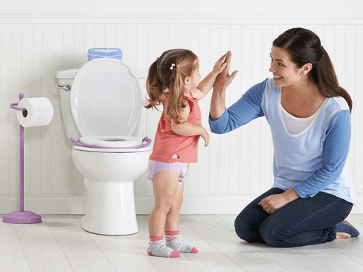 Potty Training Time is Language Learning Time