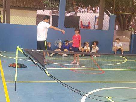 Tênis no Colégio!