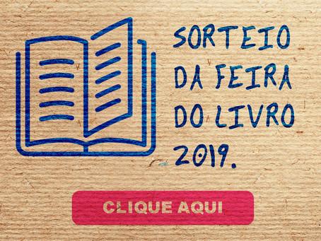Sorteio da Feira do Livro 2019.