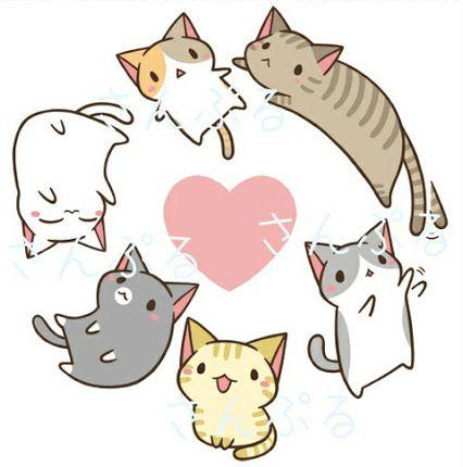 59aaac8dfe5e824fcf250299db49a0b7--kawaii-doodles-cat-doodles
