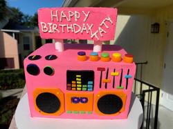 Boom Box Cake