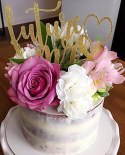 Future Mrs. Bachelorette Cake