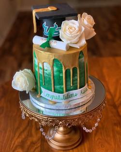 USF Graduation Cake