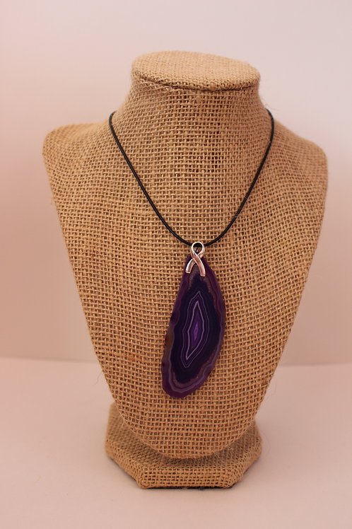 Amethyst Necklace for Alzheimer's