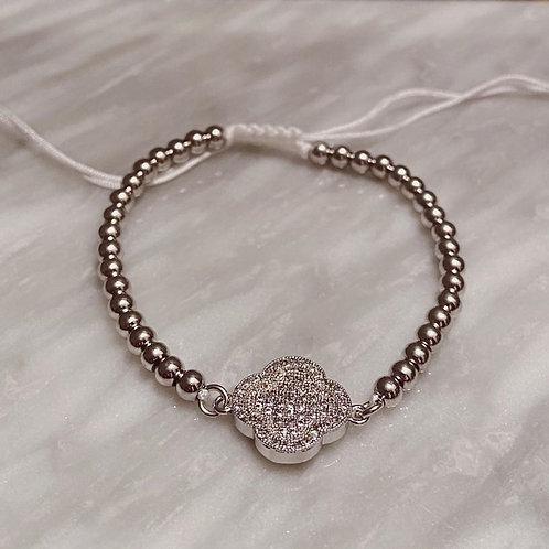 Clover Adjustable Bracelet