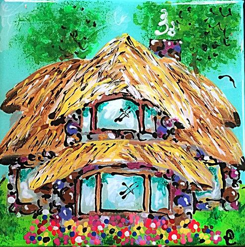 MUSHROOM HOUSE/FAMILY HOUSE PAINTING