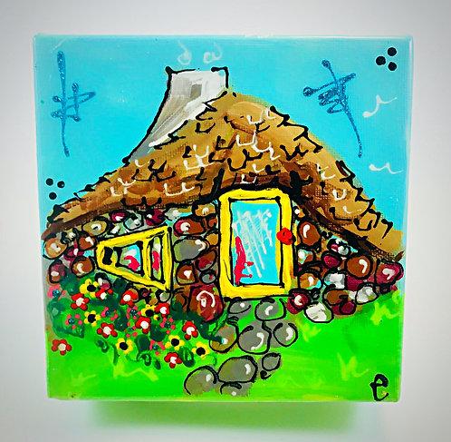 """Half House"" painting"