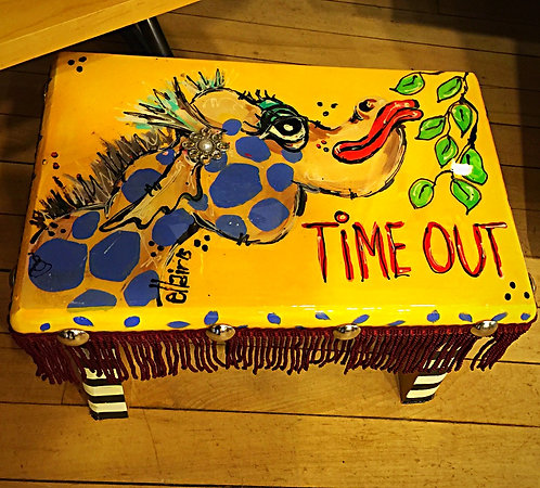 """""""Time Out Stool"""""""