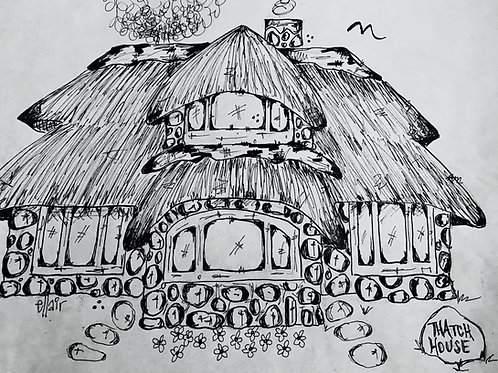 Charlevoix Mushroom House Prints