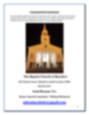 Profile - The Baptist Church of Beaufort