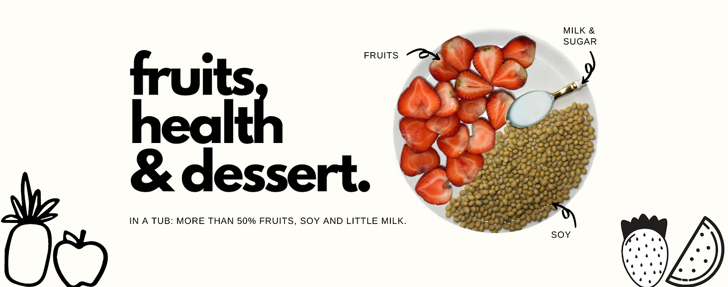 Trippy Sherbet fruits, health, dessert.p
