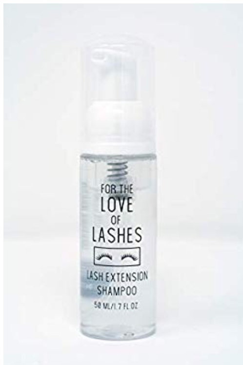 Oil Free Lash Extension Foaming Cleanser