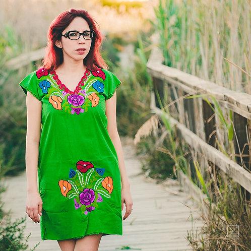 Xoxoctic (Vestido verde)