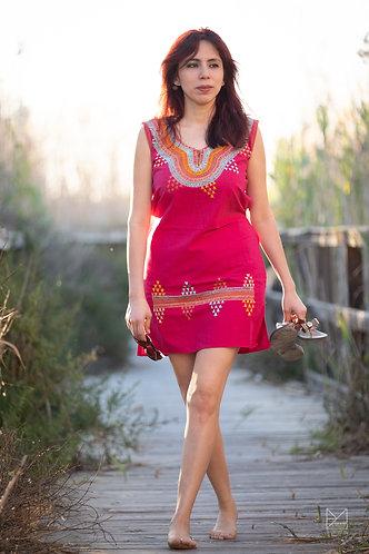 Cuahuencho (Vestido rosa)