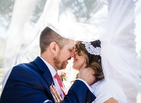 Heather and Zac Gilbert Temple Wedding