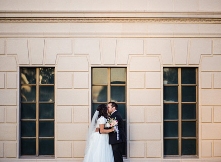 Viviana + Phillip | Mesa Temple Wedding Photography