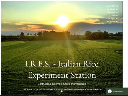 Finalmente I.R.E.S. online ! / *Finally I.R.E.S. online!
