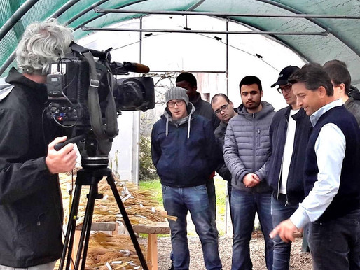RAI Educational visita IRES / *IRES visited by RAI Educational TV Channel
