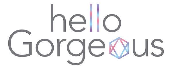 Hello Gorgeous Salon Logo