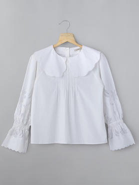 Long Sleeve Blouse With Embroidery