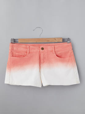 Shorts With Tie-Dye