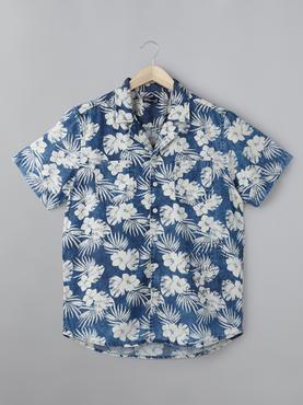 Denim Floral Printed Shirt