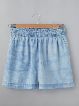 Shorts With Cloud Wash