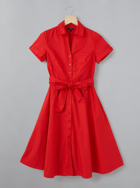 Red Tunic With Belt